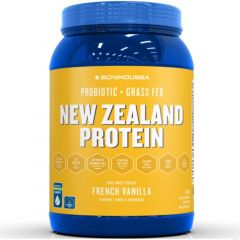Schinoussa Probiotic Grass Fed New Zealand Protein (100% Whey Isolate), 910g