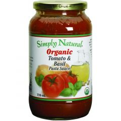 Simply Natural Organic Pasta Sauce, 739ml