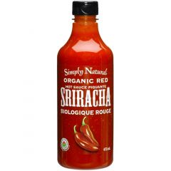 Simply Natural Organic Red Sriracha Sauce, 473ml