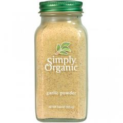 Simply Organic Garlic Powder, 103g