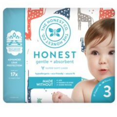 The Honest Company DIAPERS  -  MULTI-COLORED GIRAFFES
