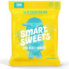 Smart Sweets Sour Blast Buddies, Low Sugar Naturally Sweetened