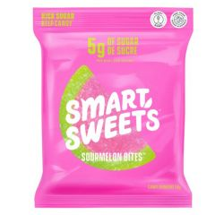Smart Sweets Sourmelon Bites, Low Sugar Naturally Sweetened  (Estimated Arrival Nov 2020 ~ Enter your email to be notified)