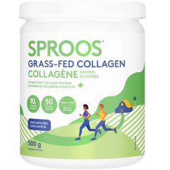 Sproos Grass-Fed Collagen, Hydrolyzed Collagen Peptides