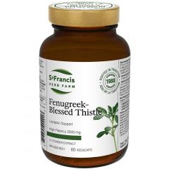 St. Francis Fenugreek/Blessed Thistle, 5:1 Powder Extract, 60 Capsules