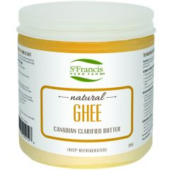 St. Francis Ghee, Natural, 370g - Refrigerated