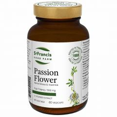 St. Francis Passion Flower, 5:1 Powder Extract, 60 Capsules