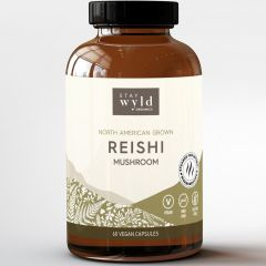Stay Wyld Organics Reishi (Stress & Anxiety Support), 60 Capsules