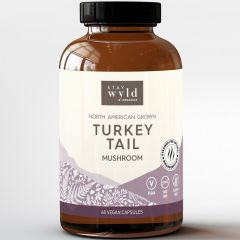Stay Wyld Organics Turkey Tail (Immune System Support), 60 Capsules