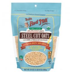 Bob's Red Mill Organic Steel Cut Oats, 680g