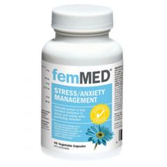 FemMED Stress & Anxiety Management, 45 Vegetable Capsules