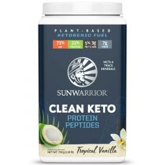 Sun Warrior Clean Keto Protein Peptides, 720 grams