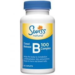 Swiss Natural B100 Complex Timed Release
