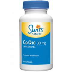 Swiss Natural Sources CoQ10 30mg, 60 Capsules