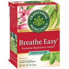 Traditional Medicinals Breathe Easy, 20 Wrapped Tea Bags