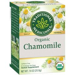 Traditional Medicinals Chamomile Tea, 20 Wrapped Tea Bags