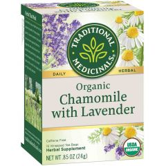 Traditional Medicinals Chamomile with Lavender, 20 Wrapped Tea Bags