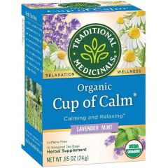 Traditional Medicinals Cup of Calm, 20 Wrapped Tea Bags