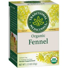 Traditional Medicinals Fennel, 20 Wrapped Tea Bags