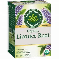 Traditional Medicinals Licorice Root, 20 Wrapped Tea Bags