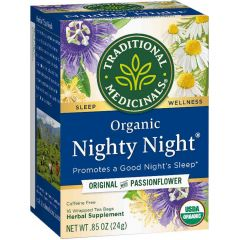 Traditional Medicinals Nighty Night Tea, 20 Wrapped Tea Bags