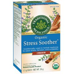 Traditional Medicinals Stress Soother Cinnamon, 20 Wrapped Tea Bags