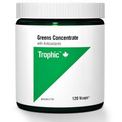 Trophic Greens Concentrate with Antioxidants, 120 Vcaps