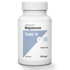Trophic Magnesium Bisglycinate 100mg (Chelazome) Vcaps