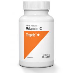 Trophic Vitamin C 1000mg Time Release, 90 Caplets