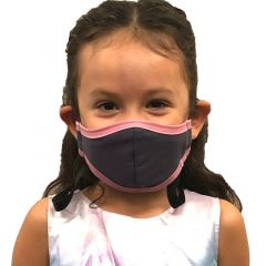 VedMed Solutions KIDS Organic Cotton Reusable Face Mask Three Layers (Adjustable 4 Inch Stiffener) (Ages 4 to 8)