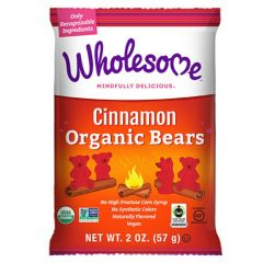 Wholesome (Formerly Surf Sweets) Organic Cinnamon Bears (NEW!)