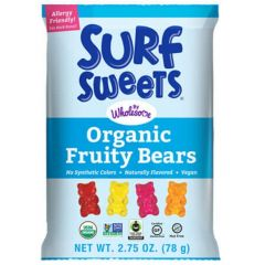 Wholesome (Formerly Surf Sweets) Organic Vegan Fruity Bears (NEW!)