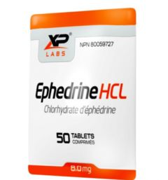 XP Labs Ephedrine 8mg (Ships within Canada Only)