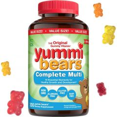 Hero Nutritionals Yummi Bears Multi-Vitamin (Estimated Arrival Oct/2020 ~ Enter your email to be notified)