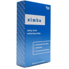 Zimba Mint Whitening Strips (14 treatments) (4 Mint Flavours To Choose From)