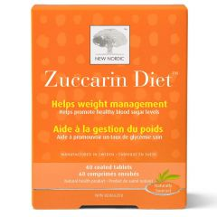 New Nordic Zuccarin, 60 Tablets