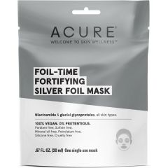 Acure Fortifying Silver Mask (Factory Case), 12 Pack of Masks