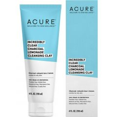 Acure Clear Charcoal Cleansing Clay, 118ml