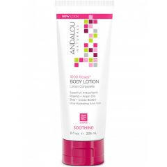Andalou Naturals 1000 Roses Soothing Body Lotion, 236ml