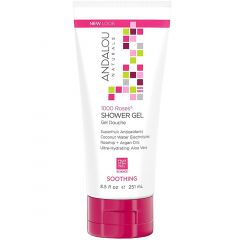 Andalou Naturals 1000 Roses Soothing Shower Gel, 251ml