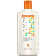 Andalou Naturals Argan Oil & Shea Moisture Rich Conditioner, 340ml