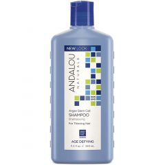 Andalou Naturals Argan Stem Cell Age Defying Shampoo For Thinning Hair, 340ml