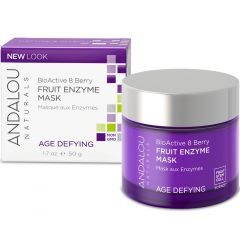 Andalou Naturals BioActive 8 Berry Enzyme Mask, 50ml