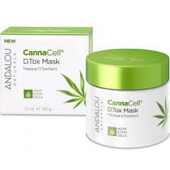 Andalou Naturals CannaCell® D.Tox Mask, 50g