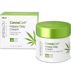 Andalou Naturals CannaCell® Happy Day Cream, 50g