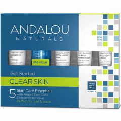Andalou Naturals Clear Skin Clarifying Kit, Get Started 5 Piece Kit