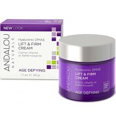 Andalou Naturals Hyaluronic DMAE Lift & Firm Cream, 50ml