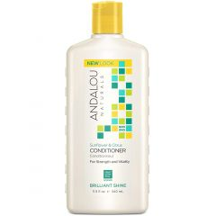 Andalou Naturals Sunflower Citrus Shine Conditioner, 340ml
