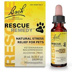 Bach Rescue Remedy Drops for Pets, 10mL