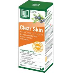 Bell Clear Skin (Formerly Help For Skin Disorders)#60, 90 Capsules